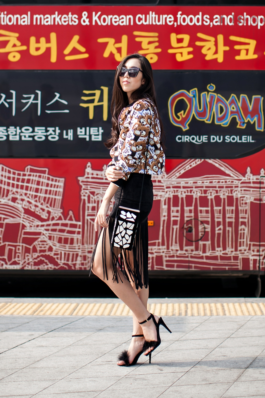 On the street… Jenny Seoul fashion week 2016 SS