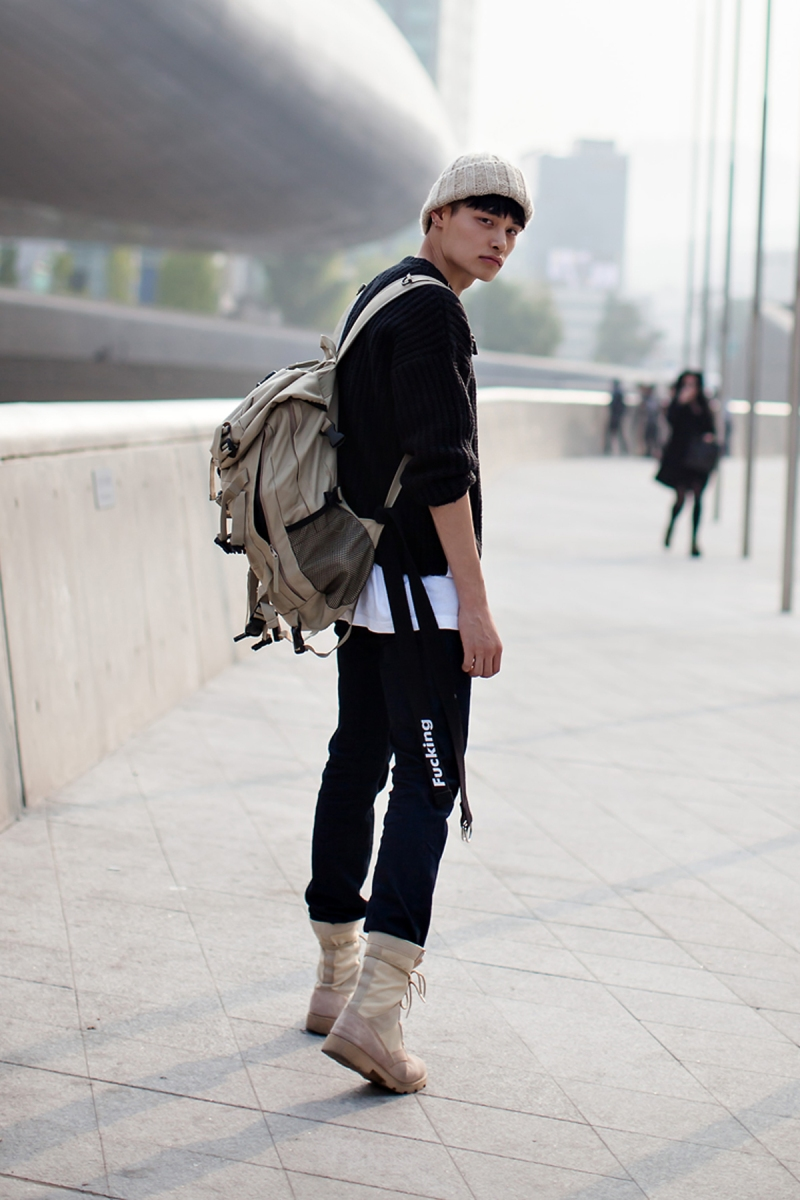 On the street… Jung Hyuk Seoul fashion week 2016 SS
