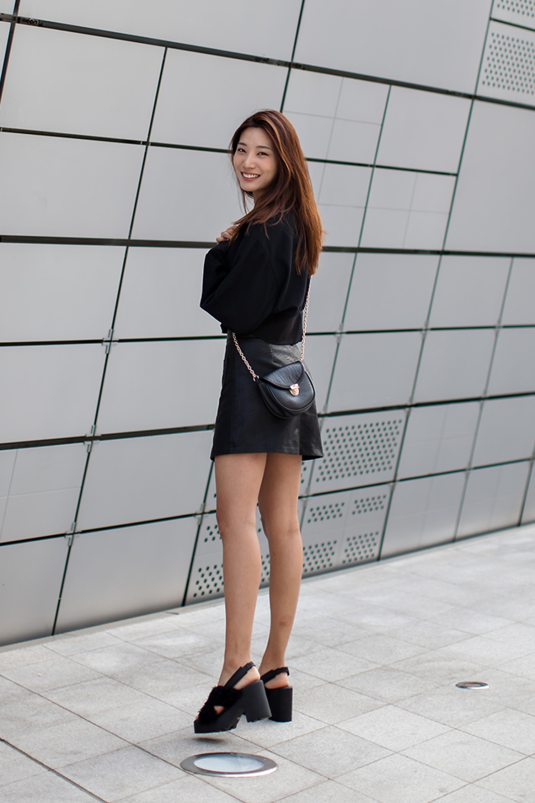 On the street… Lee Hyunji Seoul fashion week 2016 SS
