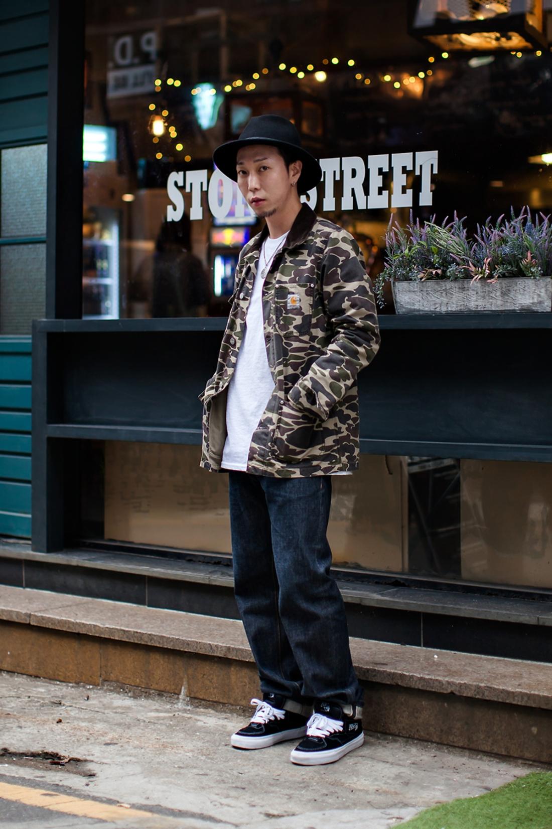 On the street… Kim Soobuk Busan