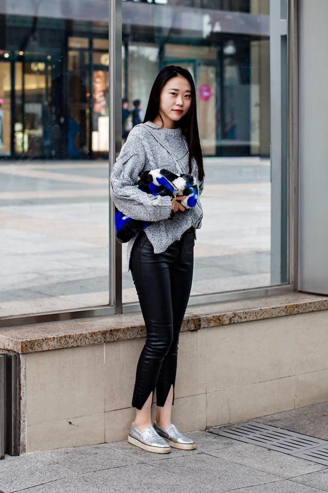 On the street… Hyun Soyoung Busan