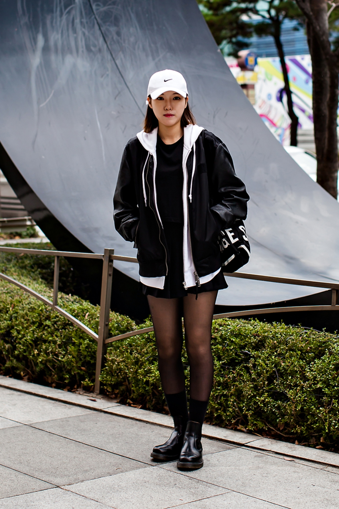 On the street… Kim Jihyun Busan