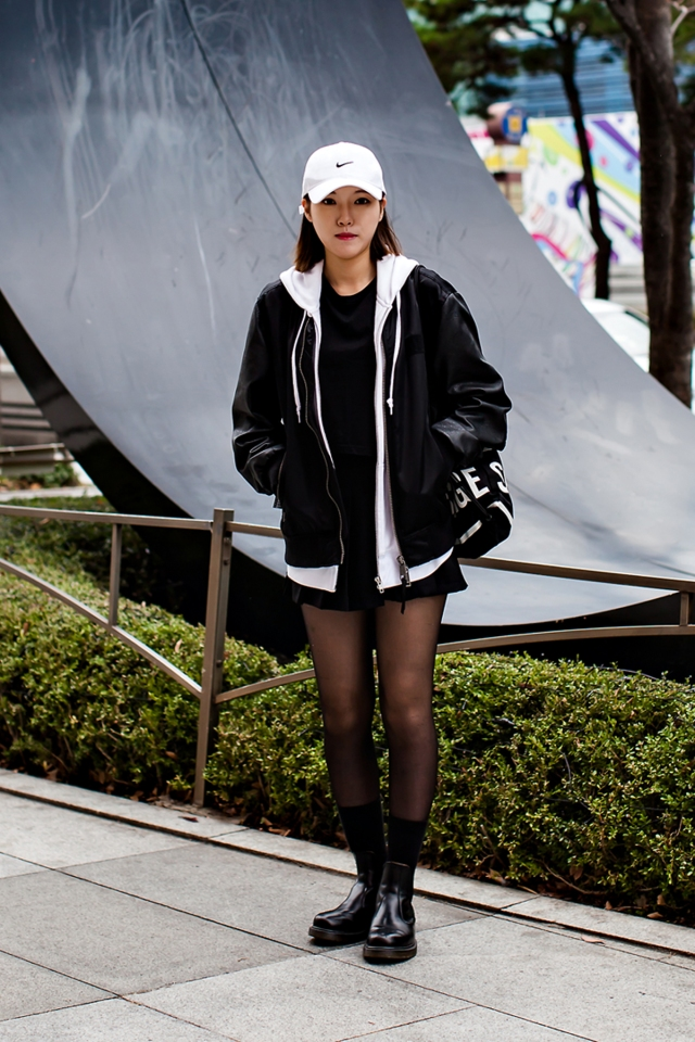 On the street… Kim Jihyun Busan