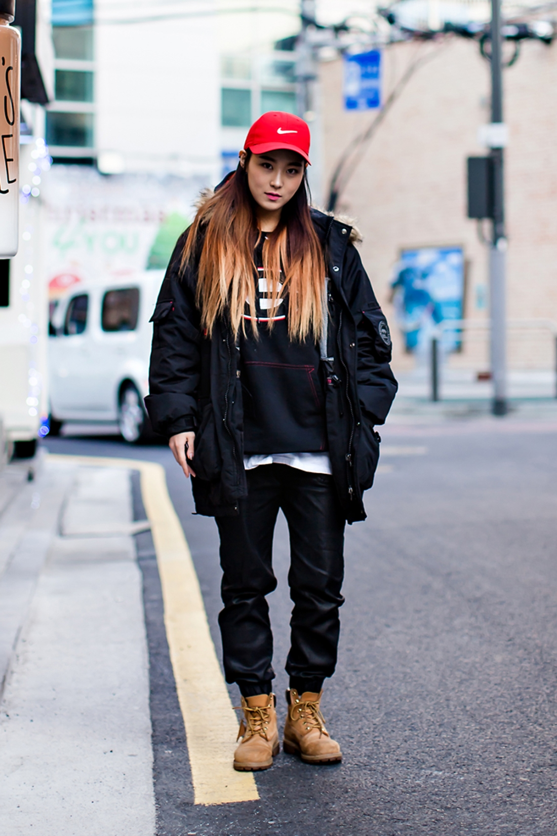 On the street… Kim Bora Seoul