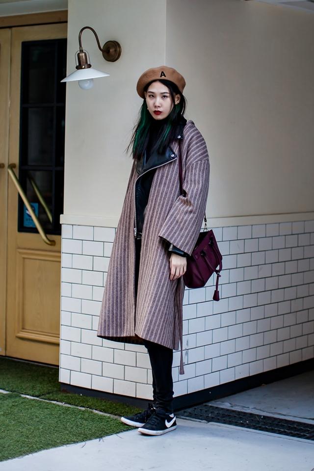 On the street… Lee Hyunseo Seoul