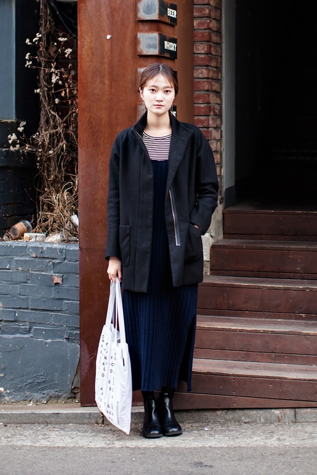 On the street… Lee Seulbi Seoul