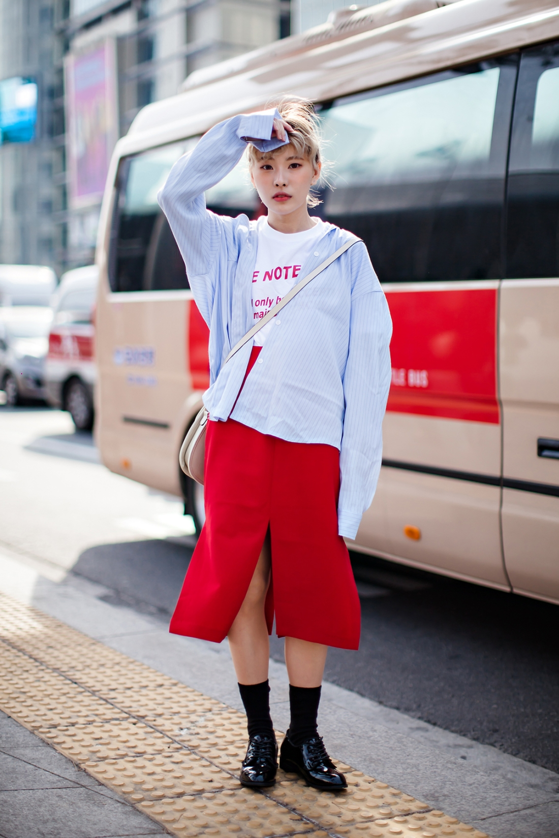 Lee Hyojin, SEOUL FASHION WEEK 2016 F:W
