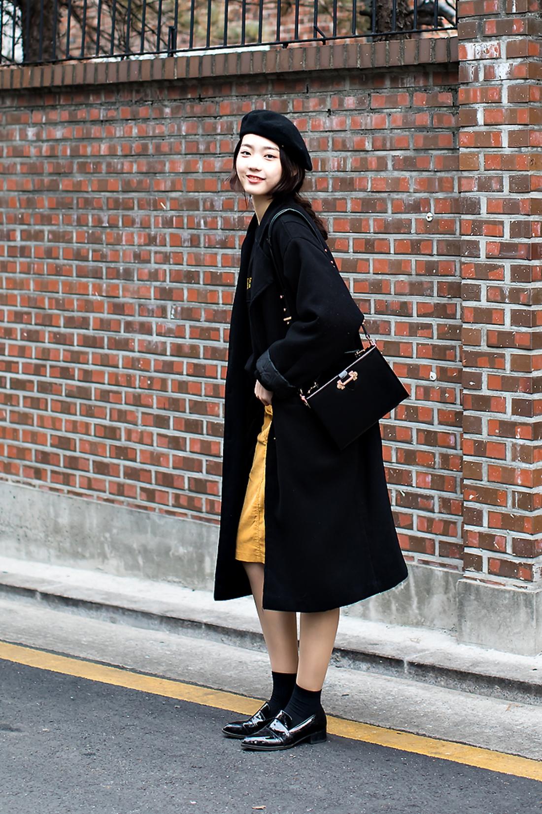 Cho Yerim, Street Fashion 2017 in SEOUL