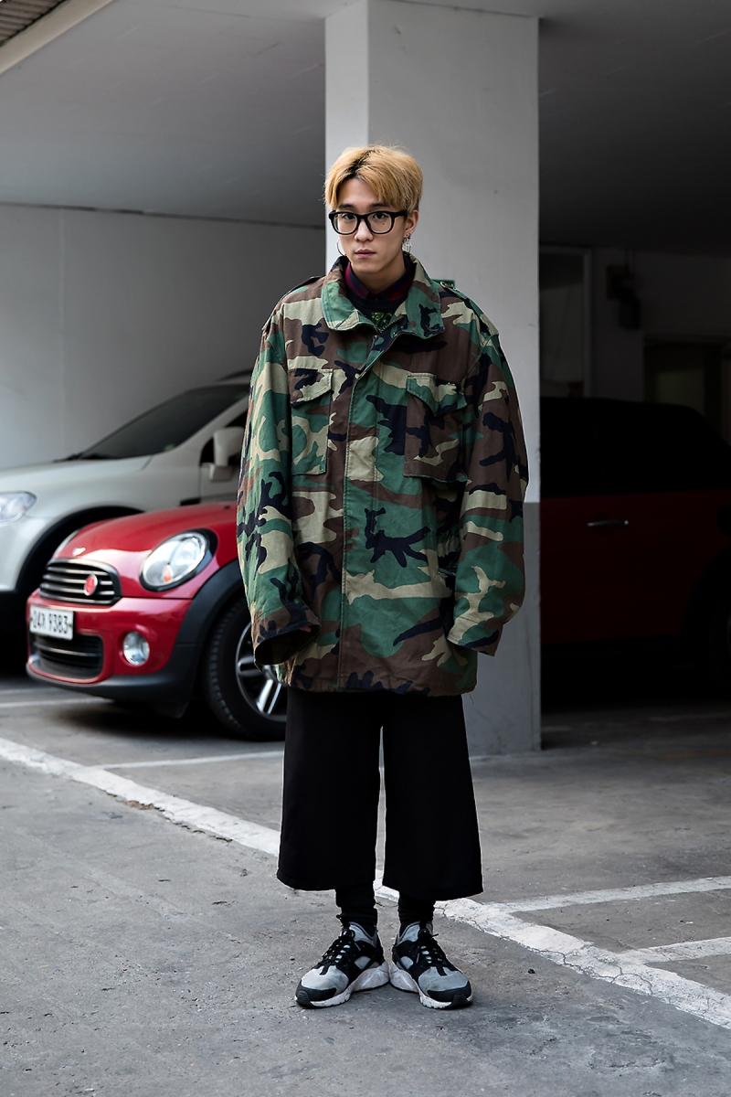 Choi Hyungwoo, Street Fashion 2017 in SEOUL