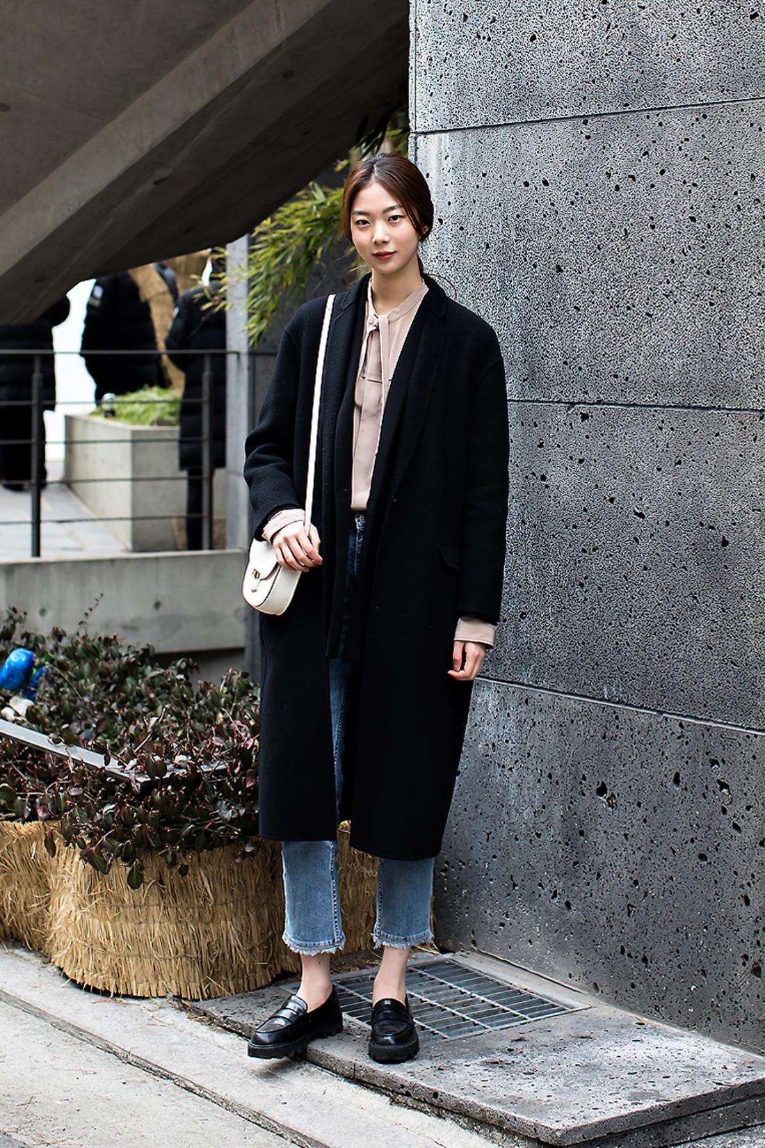 Kim Yerim, Street Fashion 2017 in SEOUL