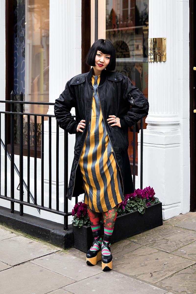 Shiori, Street Fashion 2017 in London