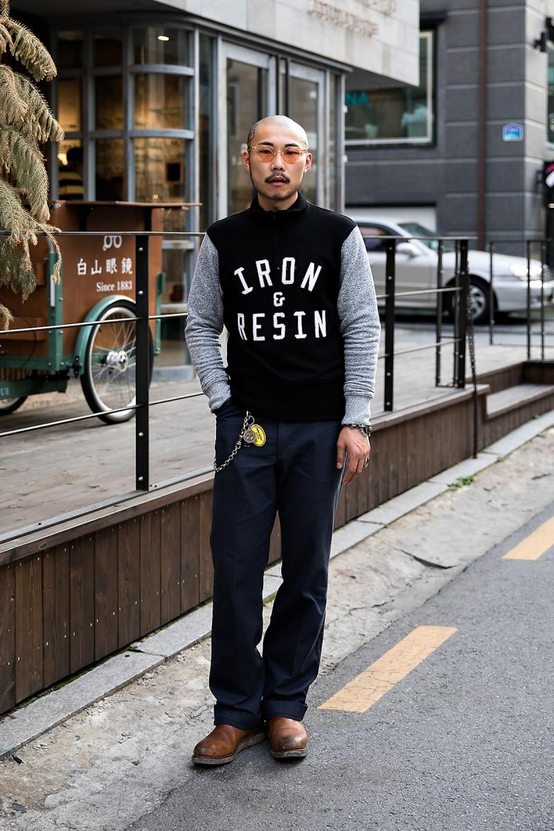 Choi Byeol, Street Fashion 2017 in Seoul