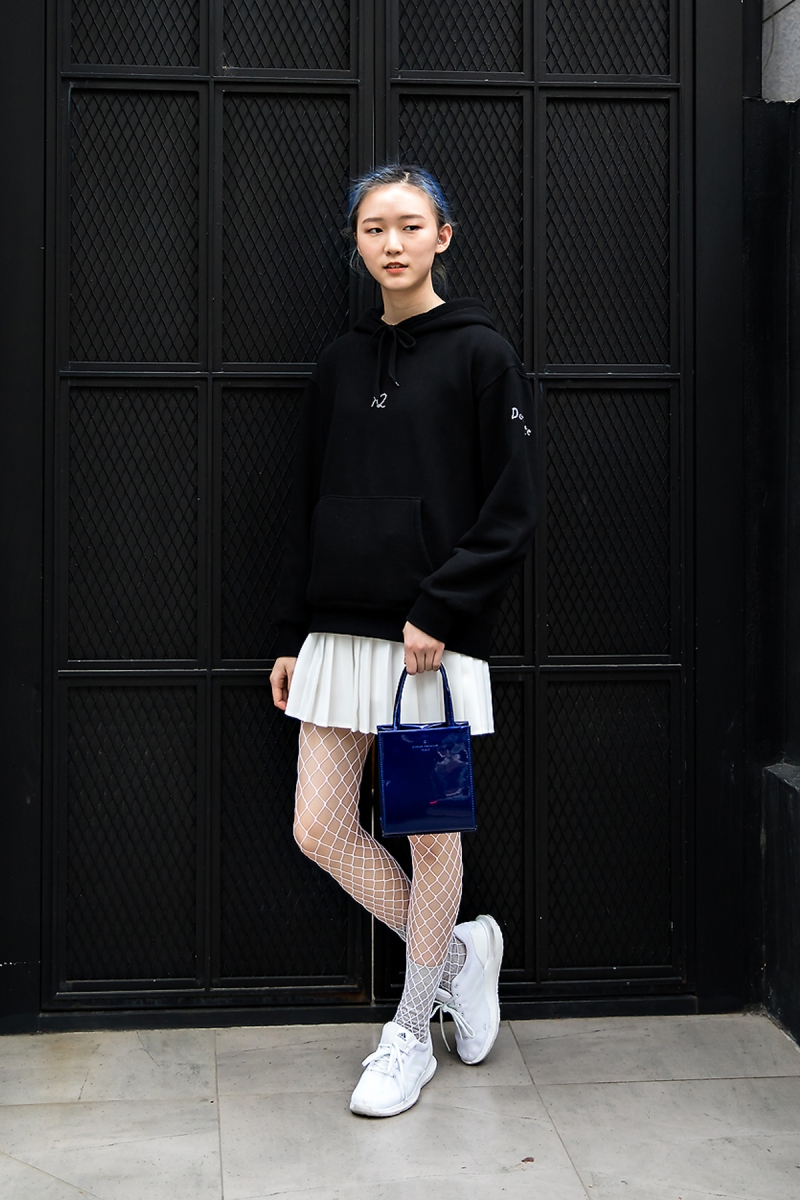 Choi Hyeryung, Street Fashion 2017 in Seoul