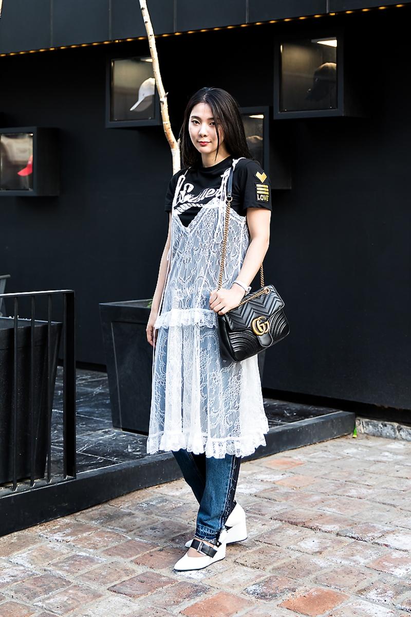 Im Junga, Street Fashion 2017 in Seoul