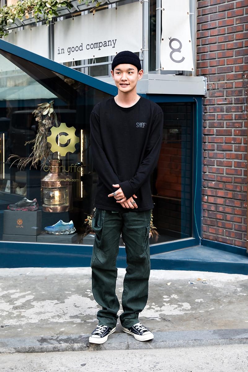 Kenpyun, Street Fashion 2017 in Seoul
