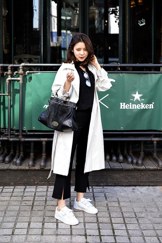 Kim Jua, Street Fashion 2017 in Seoul