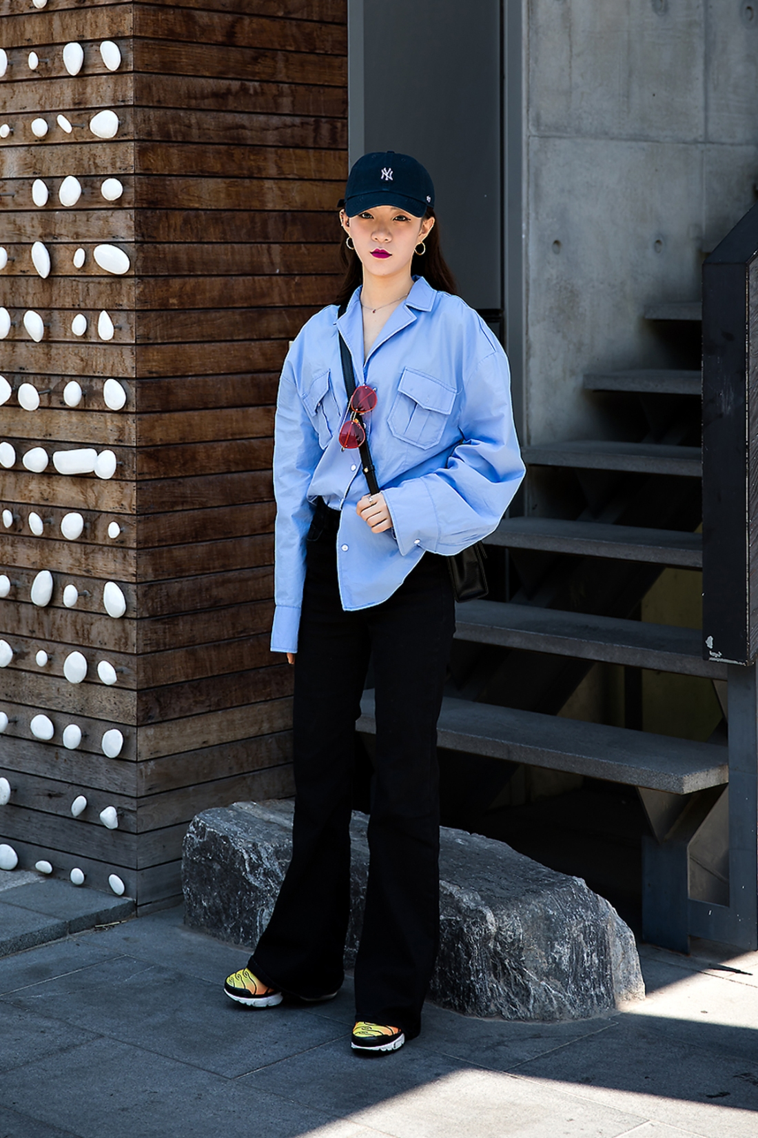 Choi Jiwoo, Street Fashion 2017 in Seoul