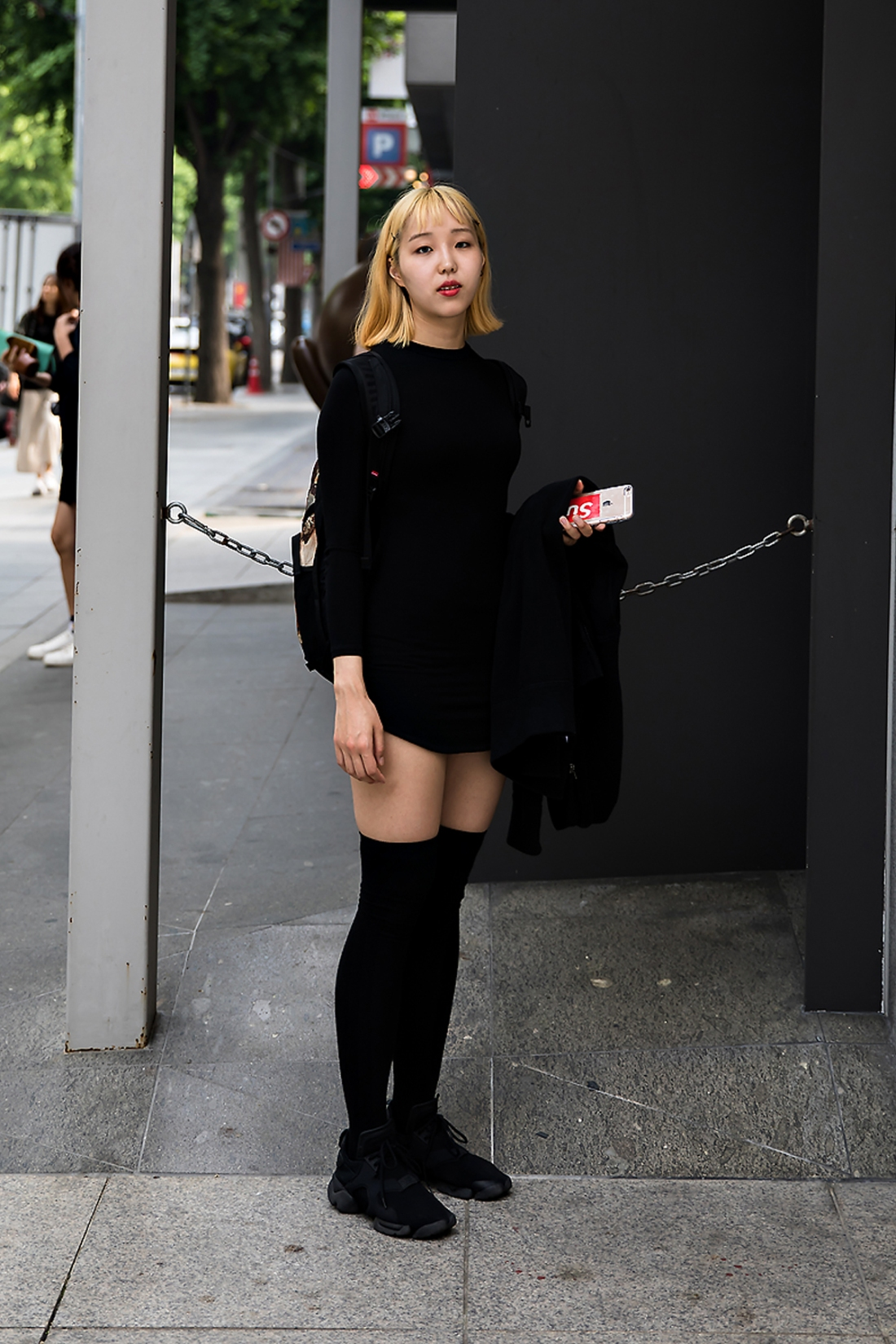 Ha Sojung, Street Fashion 2017 in Seoul