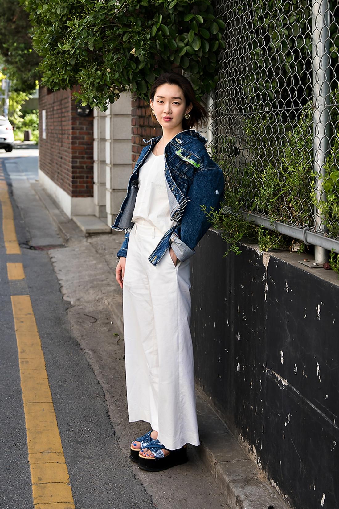 Jeon Rangkyung, Street Fashion 2017 in Seoul