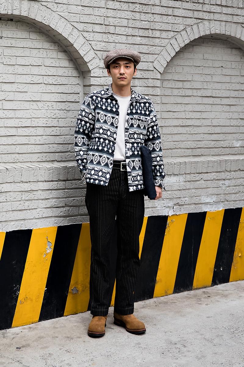 Kim Dongju, Street Fashion 2017 in Seoul