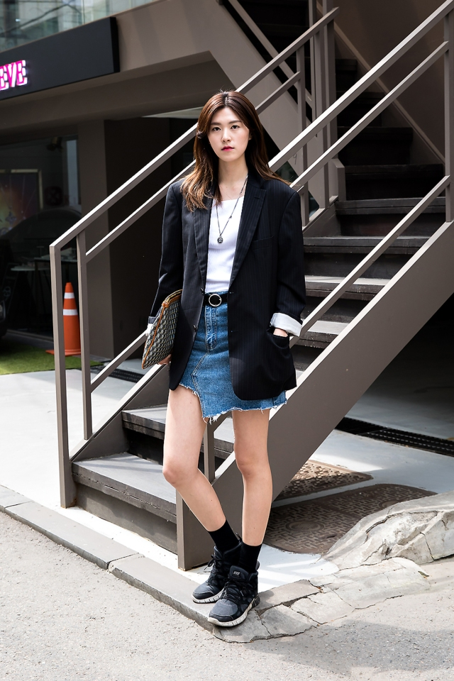 Kim Soomin, Street Fashion 2017 in Seoul
