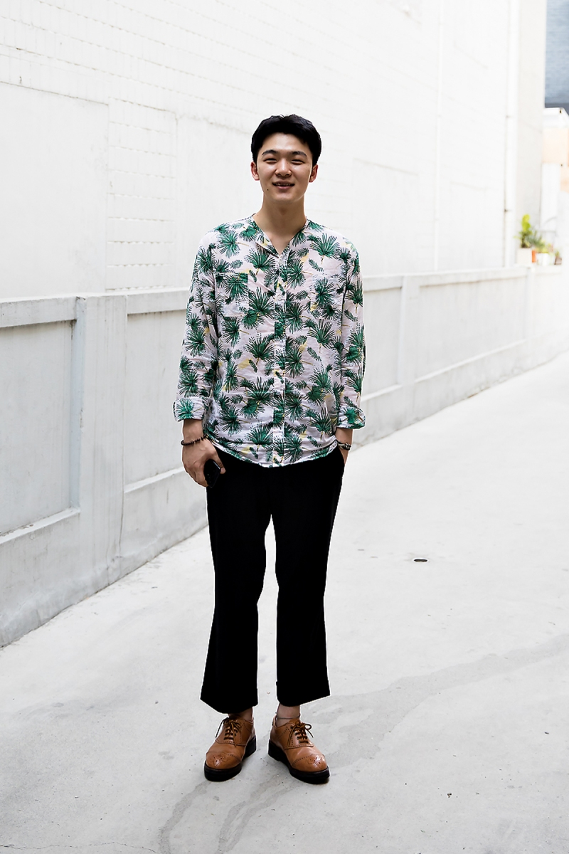 Lee Hoyong, Street Fashion 2017 in Seoul