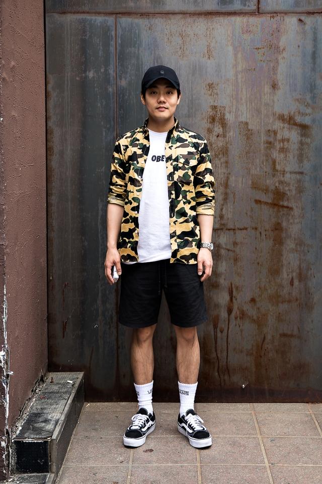 Lee Seungyong, Street Fashion 2017 in Seoul
