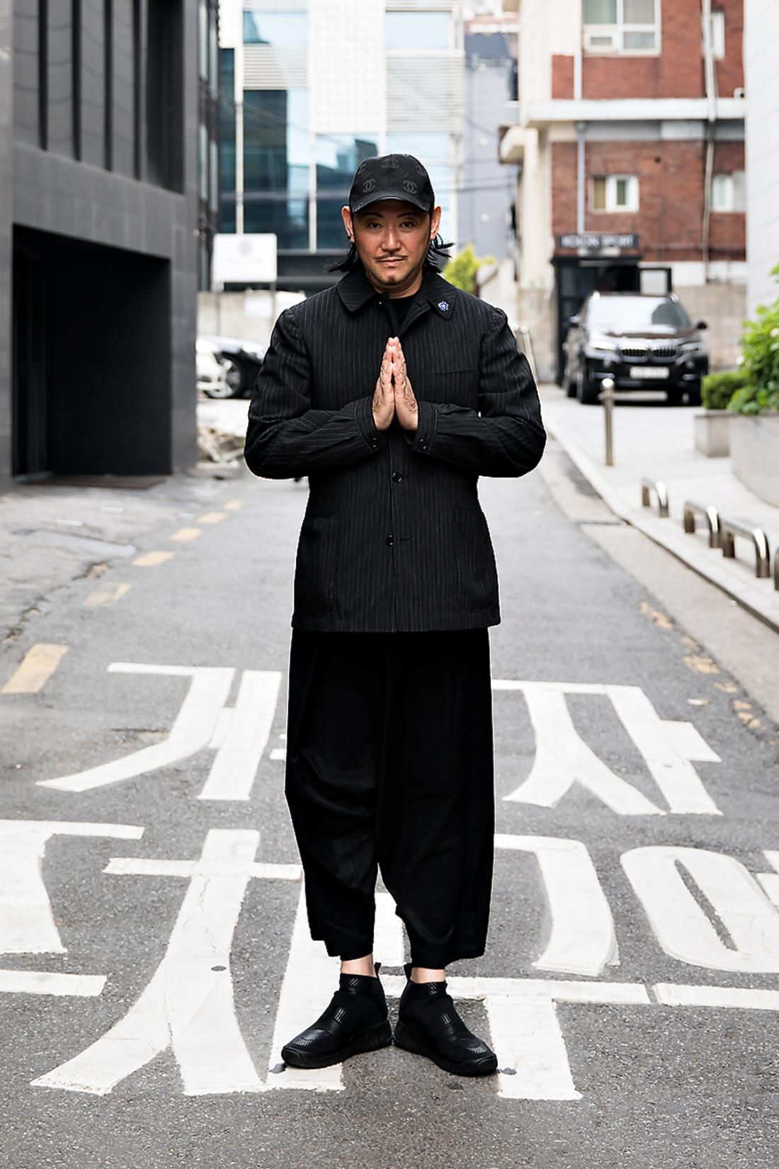 No Chungryang, Street Fashion 2017 in Seoul