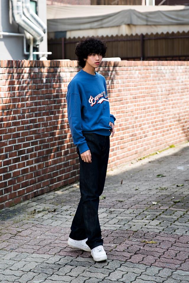 Kim Wonki, Street Fashion 2017 in Seoul