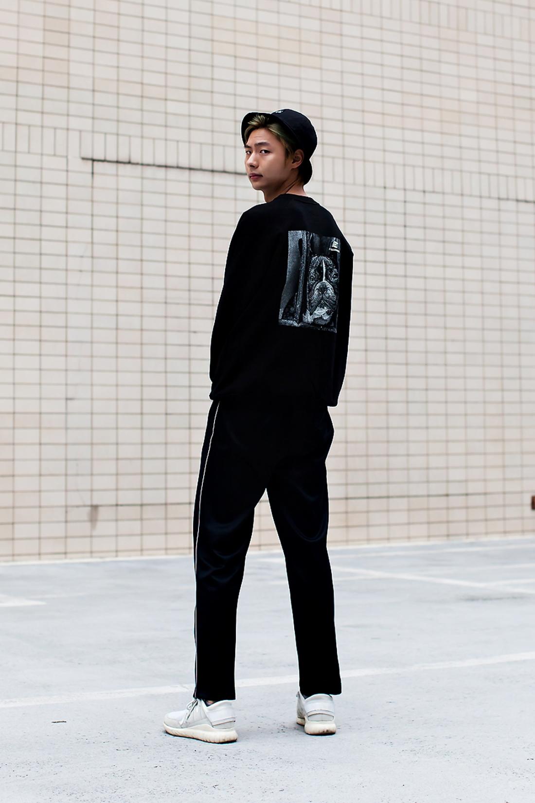 Lee Yoon, Street Fashion 2017 in Seoul