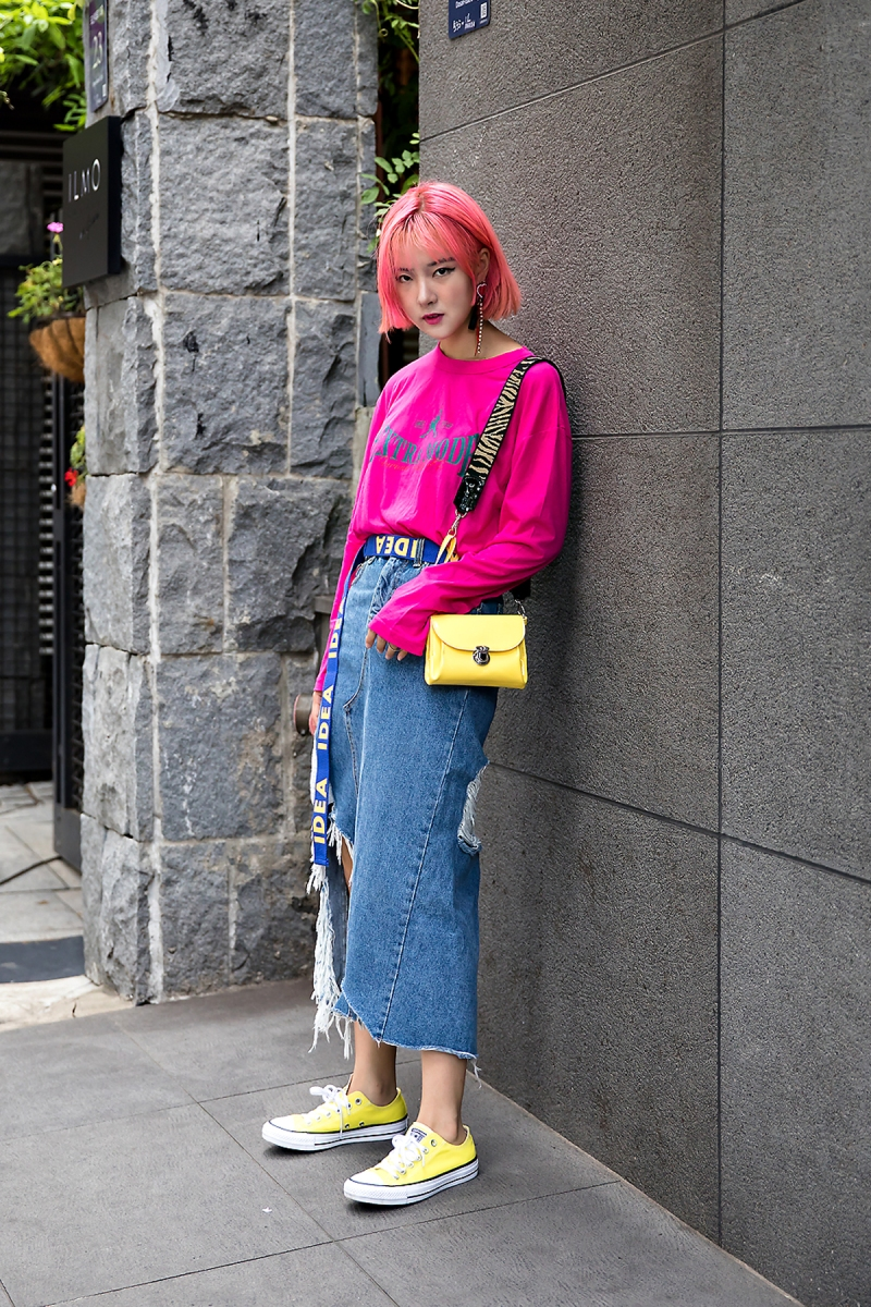 Yoon Chae Rim, Street Fashion 2017 in Seoul.jpg