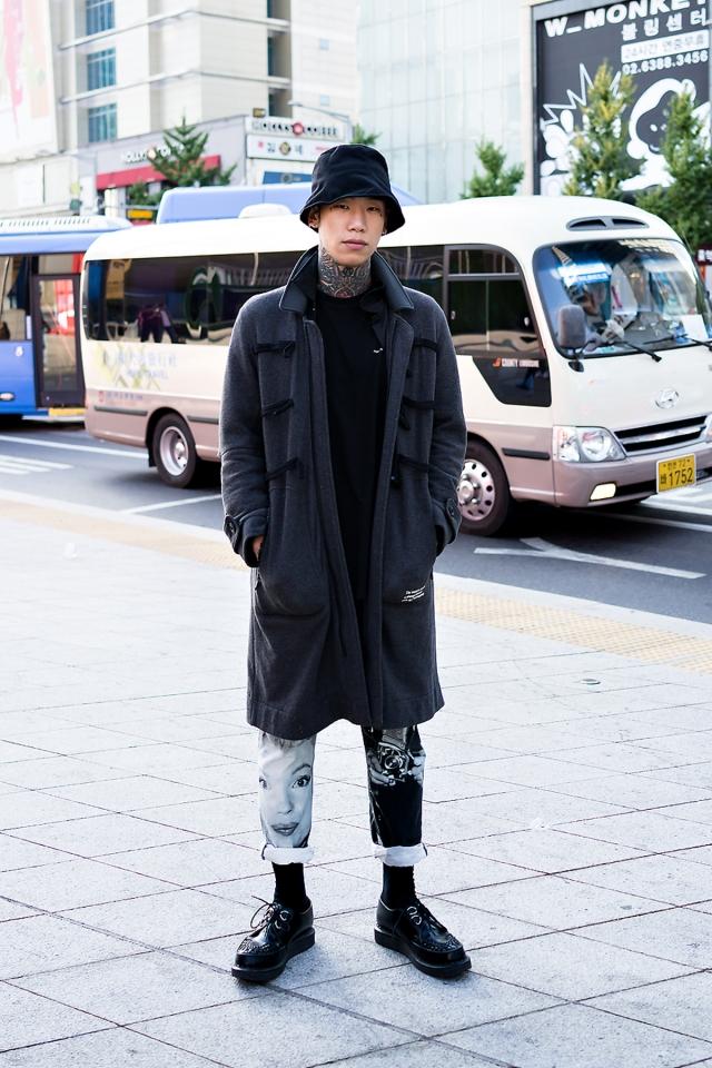 SEOUL FASHION WEEK STREETWEAR MENS 2018SS #3