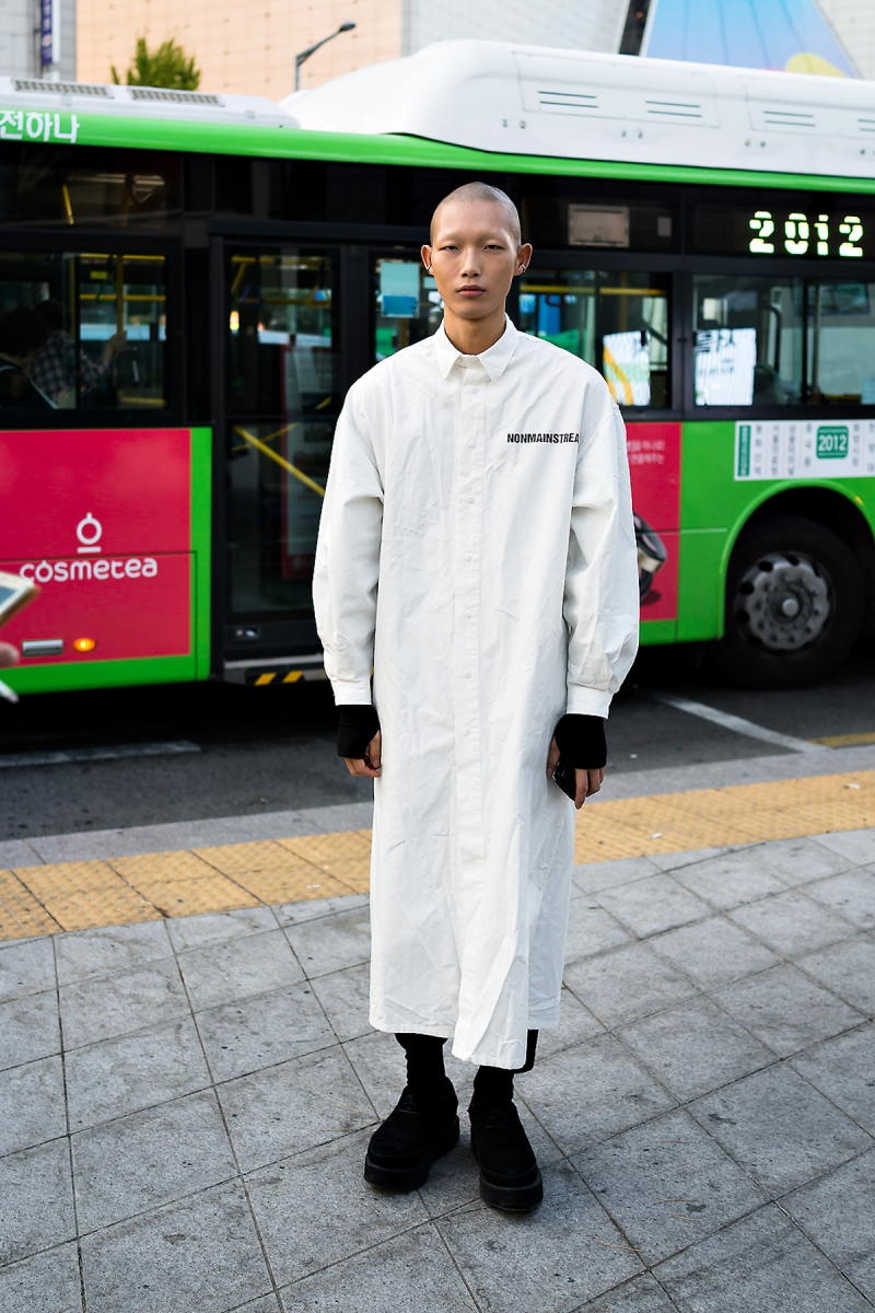 SEOUL FASHION WEEK STREETWEAR MENS 2018SS #4