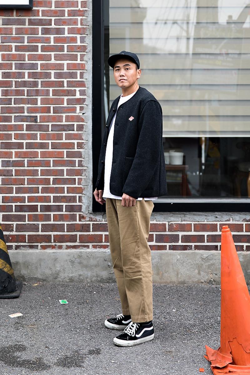 Afuwu, Street style men winter 2017 inseoul