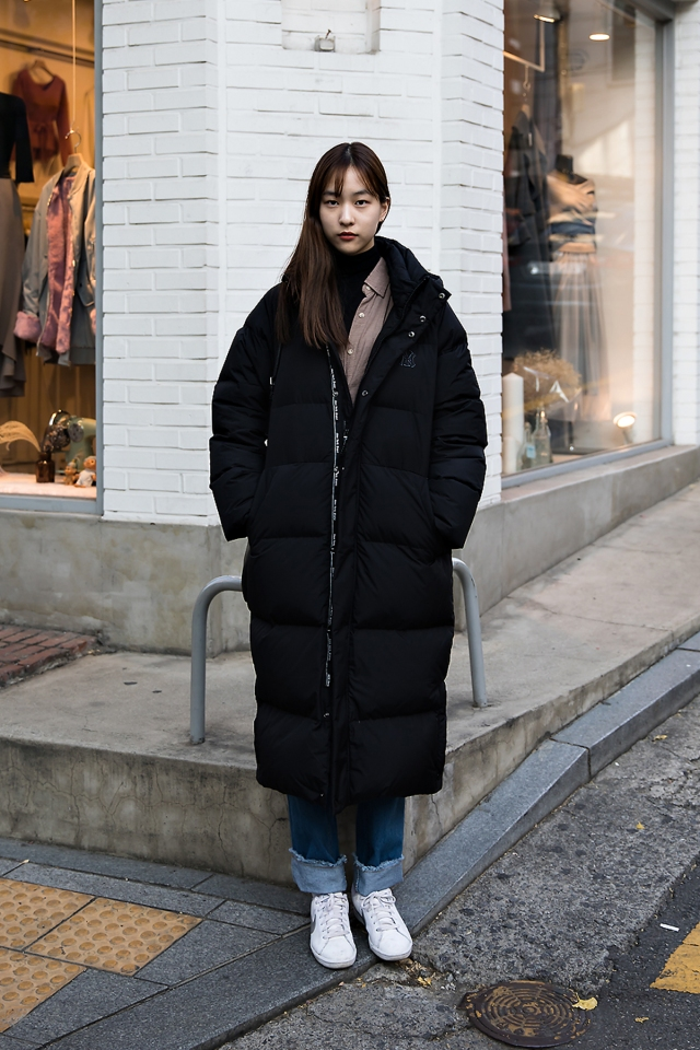 An Jisoo, Street style women winter 2017 in seoul