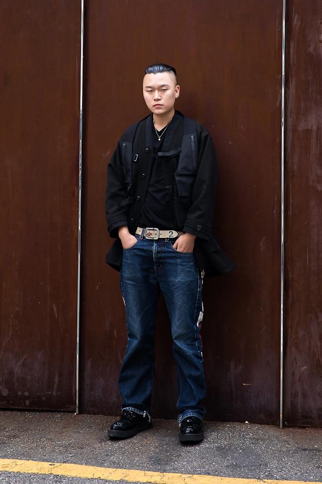 Choi Donghyuk, Street style men fall 2017 inseoul