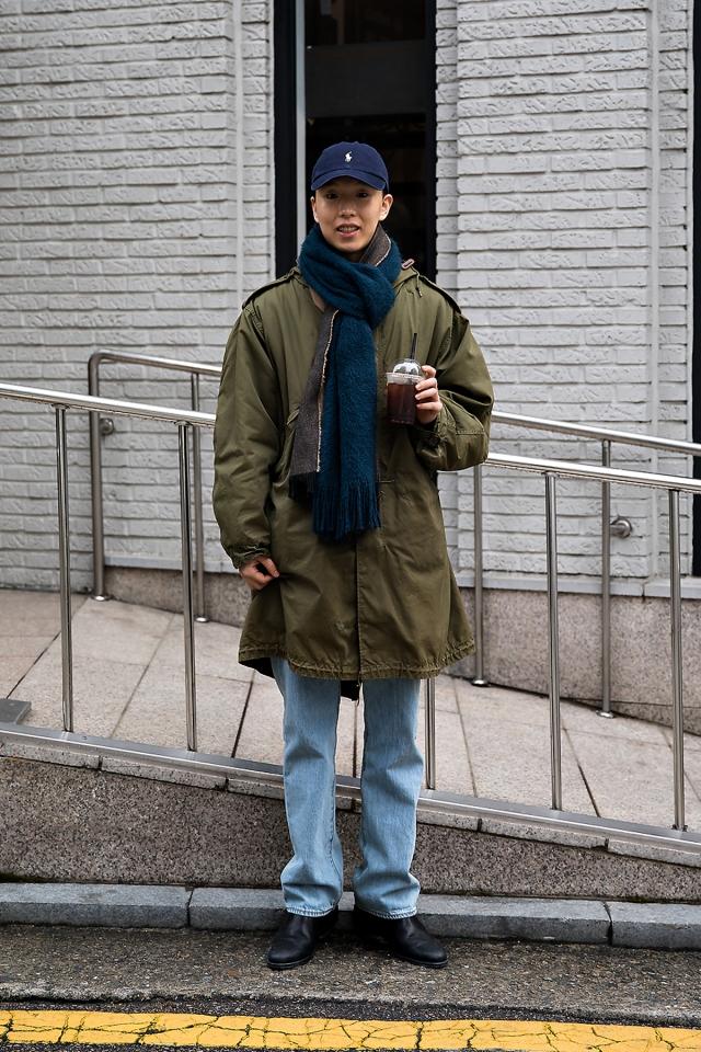 Choi Ikki, Street style men winter 2017 inseoul