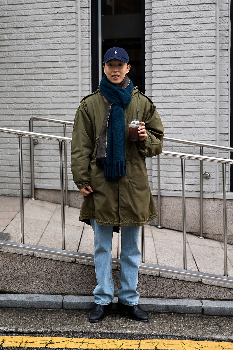 Choi Ikki, Street style men winter 2017 in seoul