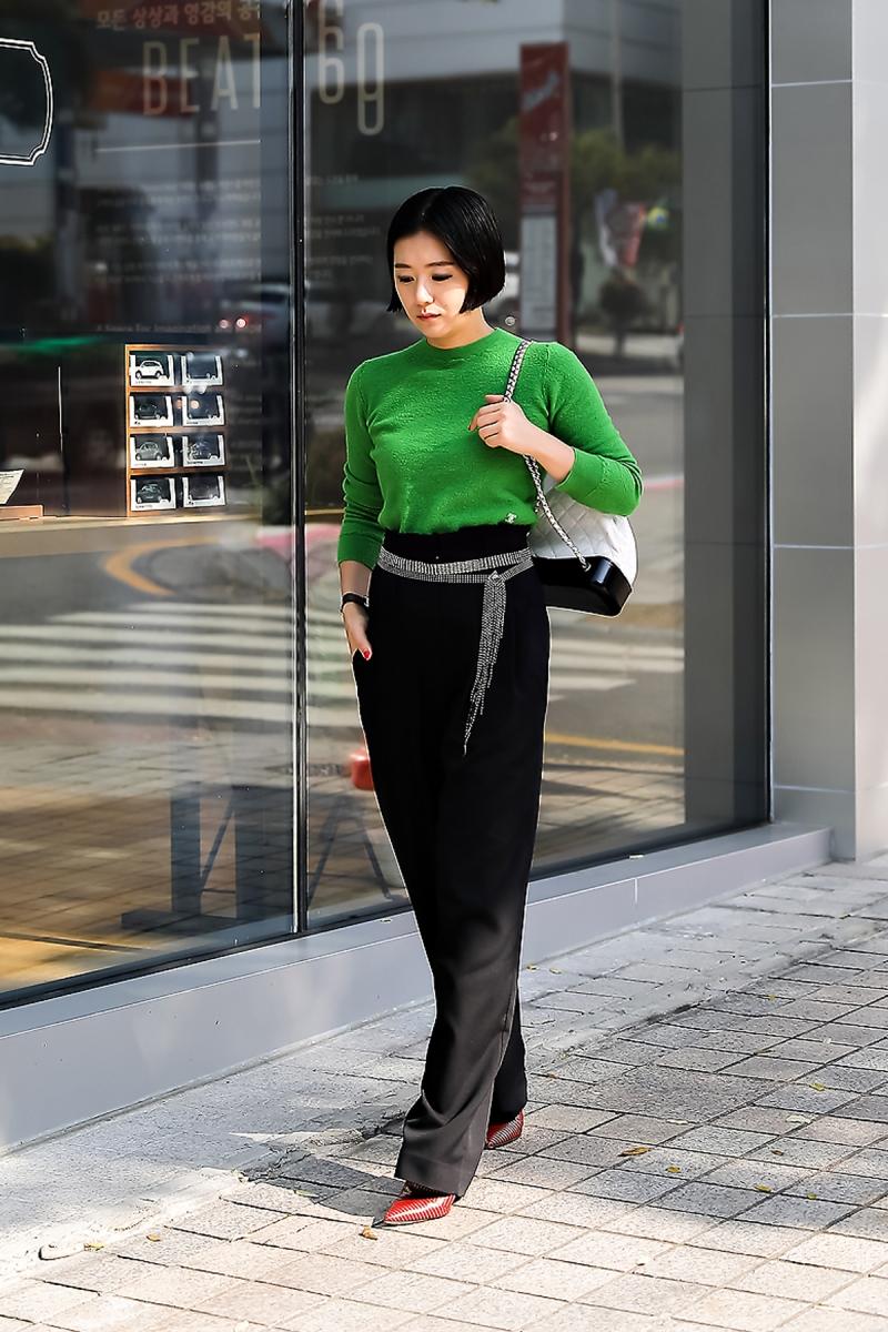 Ha Hyunkyung, Street style women winter 2017 inseoul