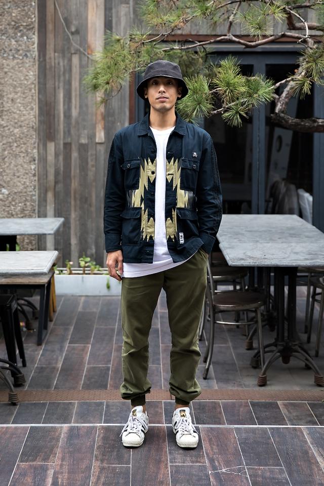 Jang Jungyeol, Street style men fall 2017 inseoul