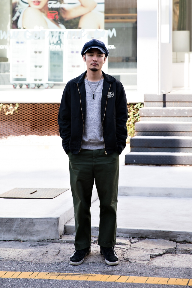 Jeon Juyoung, Street style men fall 2017 inseoul