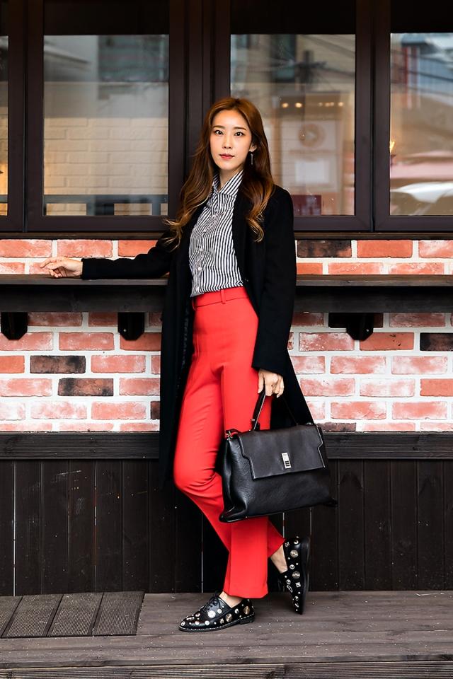 Joo Sunyoung, Street style women winter 2017 inseoul