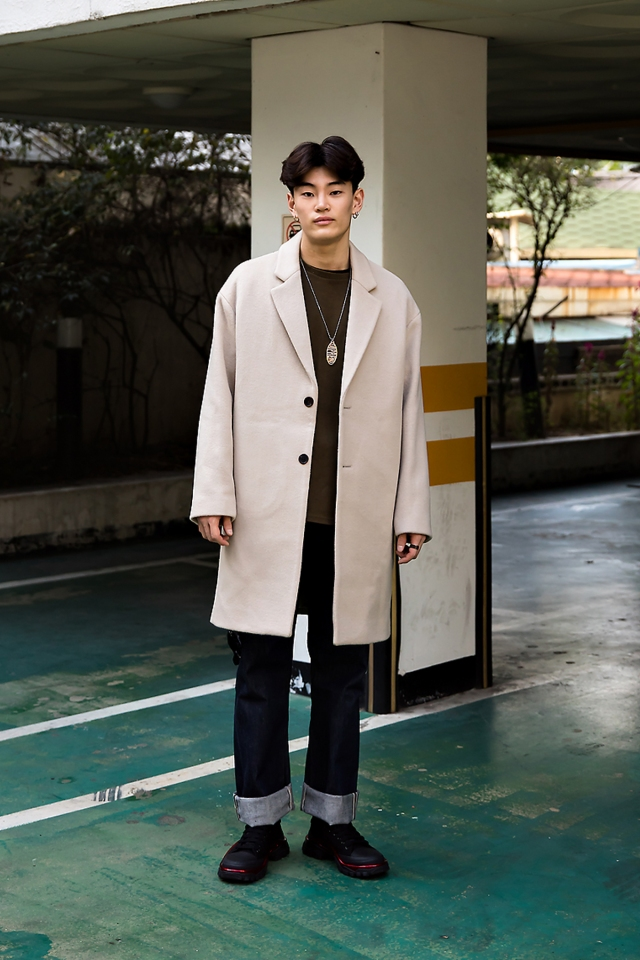 Kang Inchul, Street style men fall 2017 inseoul