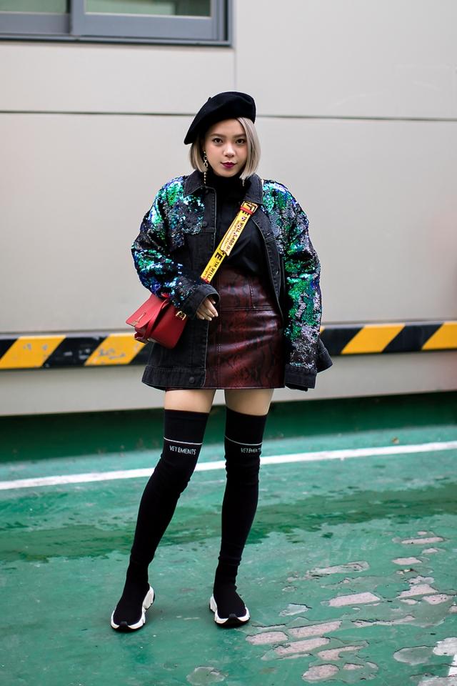 Karliedaisy, Street style women winter 2017-2018 inseoul