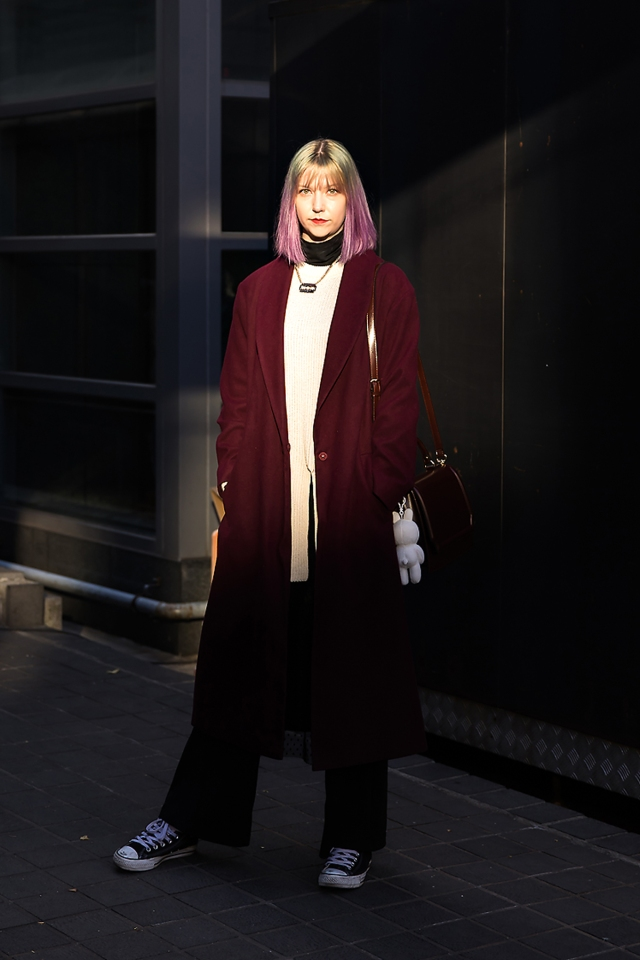 Kate White, Street style women winter 2017 inseoul