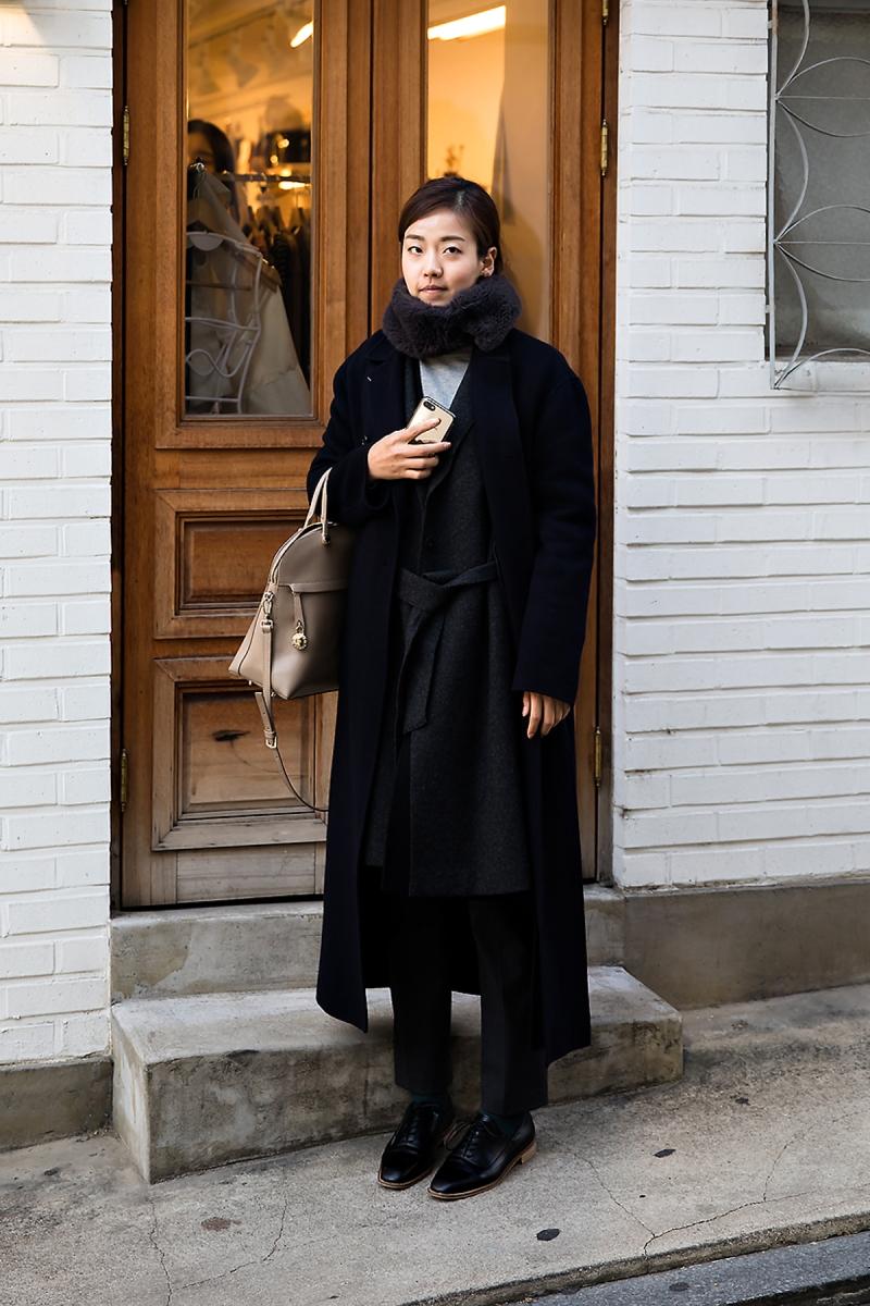 Kim Danbi, Street style women winter 2017 inseoul