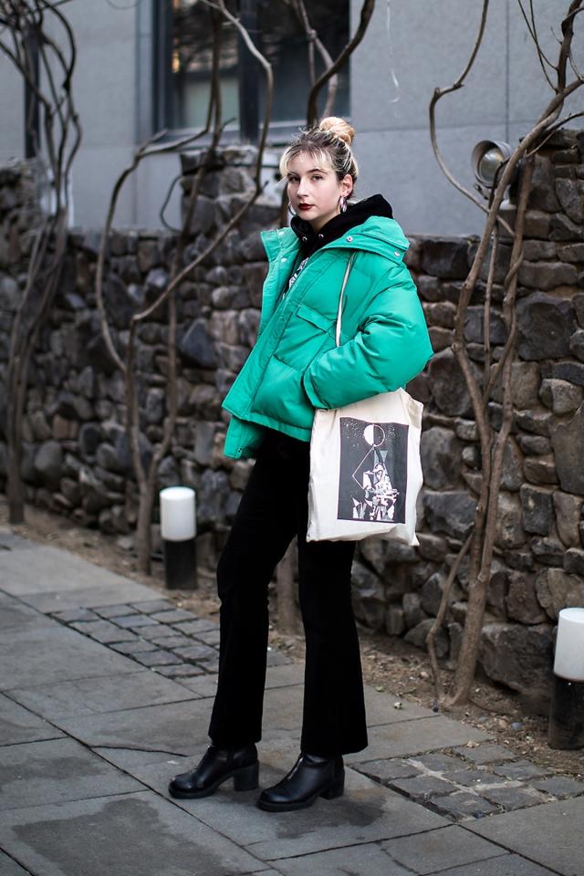 Laura, Street style women winter 2017-2018 inseoul