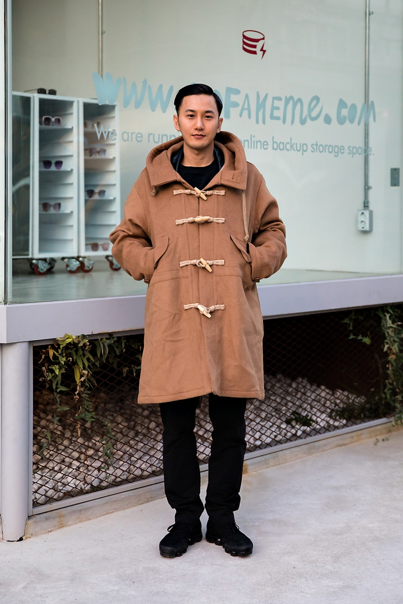 Lee Dokyung, Street style men fall 2017 inseoul