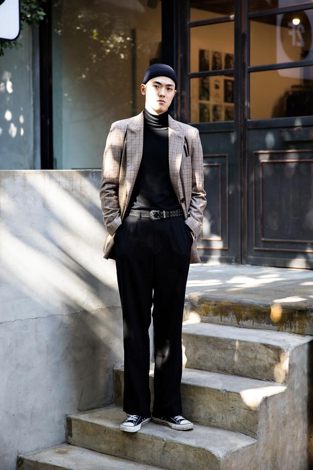 Lee Seungki, Street style men fall 2017 inseoul