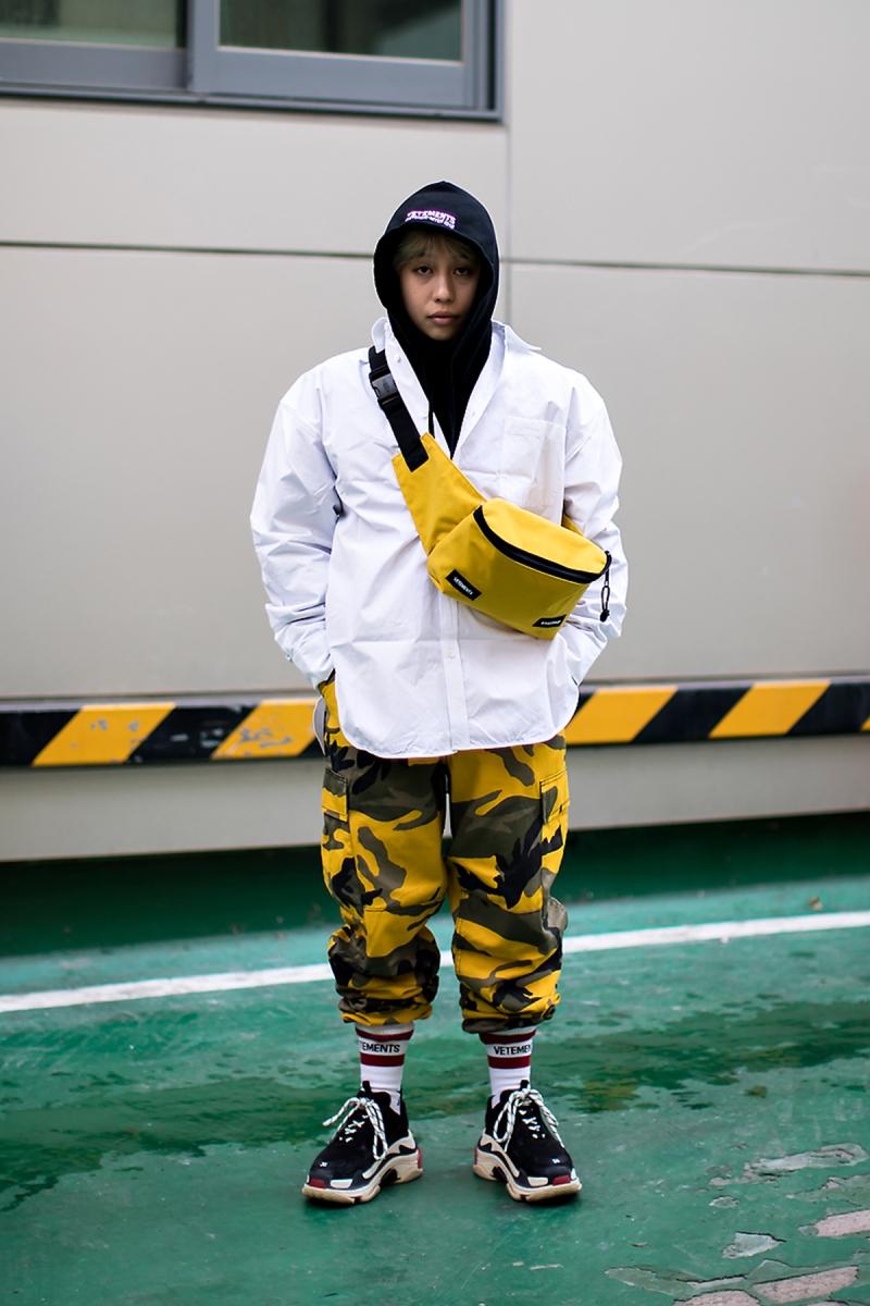 Lucas, Street style women winter 2017-2018 inseoul